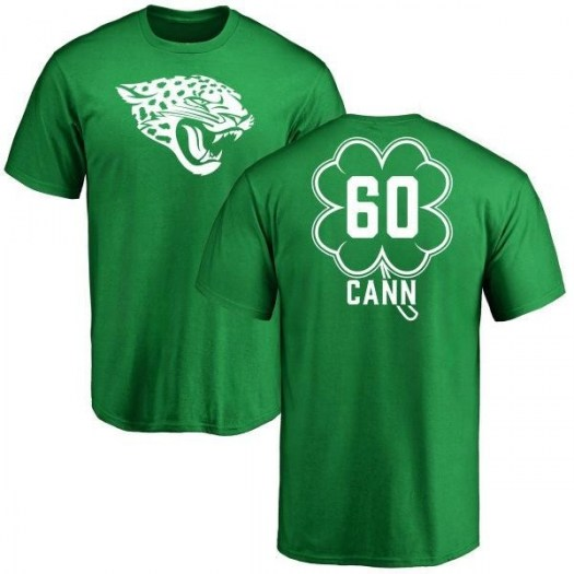 A.J. Cann Jacksonville Jaguars Youth Green St. Patrick's Day Name & Number T-Shirt
